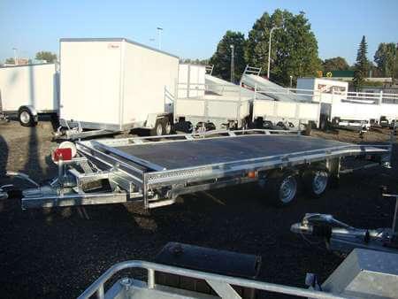 Autotrailer BCW Op Maat 5m Versie Steunpoten