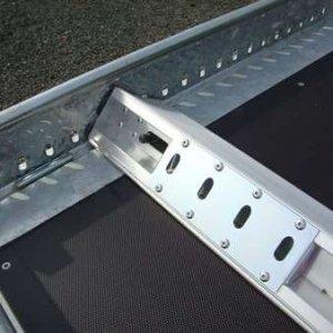 Autotrailer BCW Op Maat Met Blokkeerbaar En Bindogen
