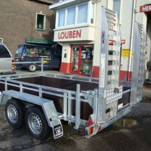 Machinetransporter BCW Met Oprijplaten