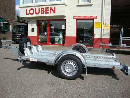 Motortrailer BCW verlaagd versterkt chassis