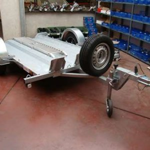 Motortrailer BCW: Standaard