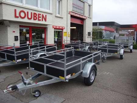 Bak aanhangwagen kopen bij Louben