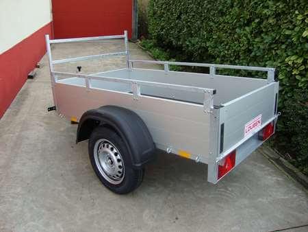 Bakaanhangwagen Anssems GT500 achterkant