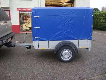 Bakaanhangwagen Anssems GT500 Optie Huif