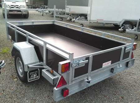 Bakaanhangwagen BCW T750 achterkant