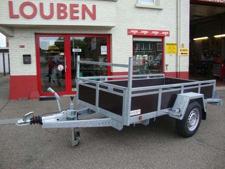 Bakaanhangwagen BCW op maat gemaakt geremd model