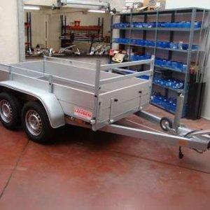 Bakaanhangwagen Anssems: BSX 1500.301×150