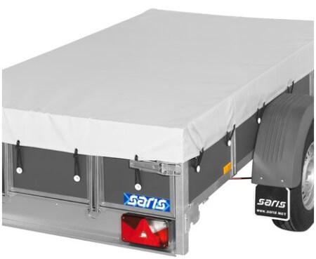 Bakaanhangwagen Saris Optie Vlakzeil