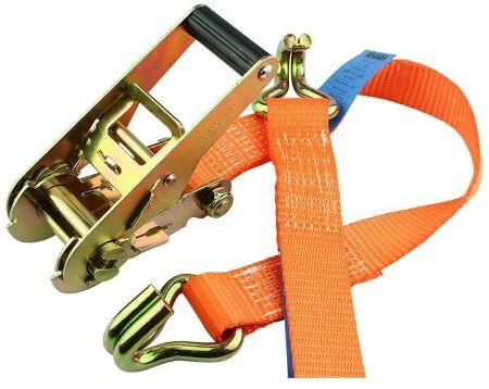 Bindriem - spanriem - 5m lang - oranje
