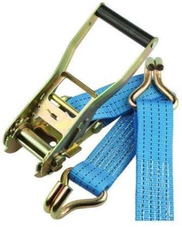 Bindriem - spanriem - zwaar model - 9m -blauw - voor auto