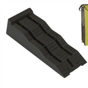 Leveller X2 – Thule 307617 – Met Opbergzak – Zwart – Max. 5000 Kg Per Paar