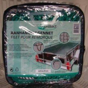 Aanhangwagennet 2,5 X 4 M