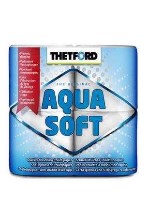 Toiletpapier Thetford Aqua Soft – 4 Rollen – 60 Cm Lang