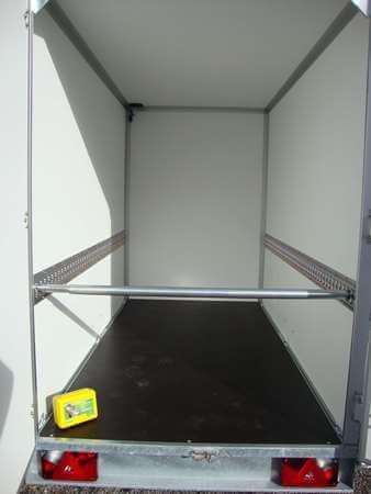 bindrails gemonteerd met blokkeerbaar