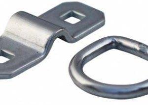 Bindoog Opbouw D-ring + Beugel ( 2 X Gat Diam. 10 Mm – 60 Mm ) – LC800daN