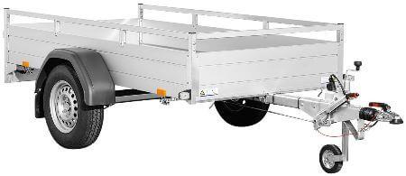 Bakaanhangwagen Saris McAlu Pro DV135